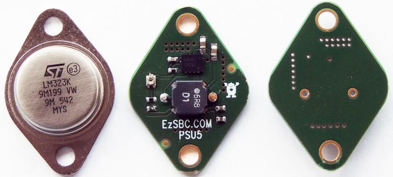 PSU5 next the an original LM323